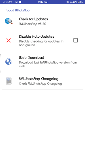 تحميل FMWhatsApp v3.80 APK  [اخر اصدار]