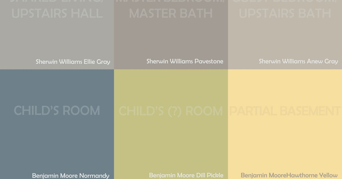ParentingPants: Our House Palette