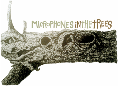 microphones in the trees