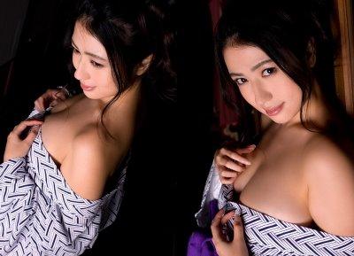 Foto Hot Kimono Jepang Yang Seksi Menawan
