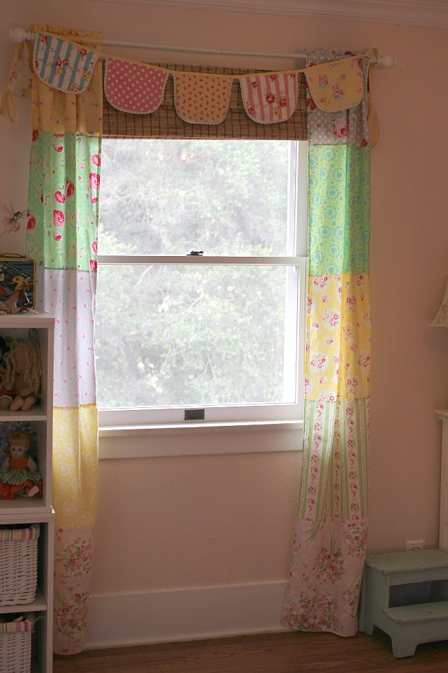 fat quarter curtain panels