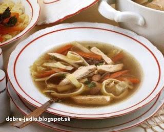 Maďarská slepačia polievka - recepty