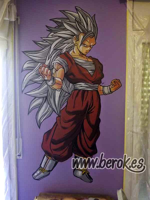 Berok Graffiti mural profesional en Barcelona Graffiti Call of