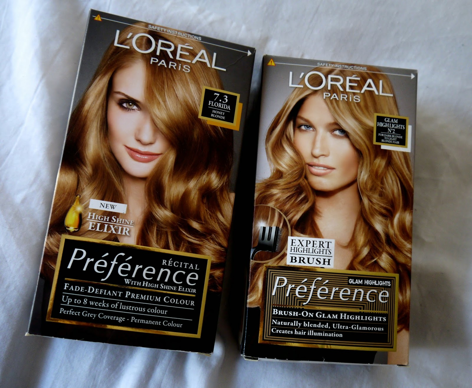 The Hair Loreal Preference Glam Highlights No2 Good Golly Miss