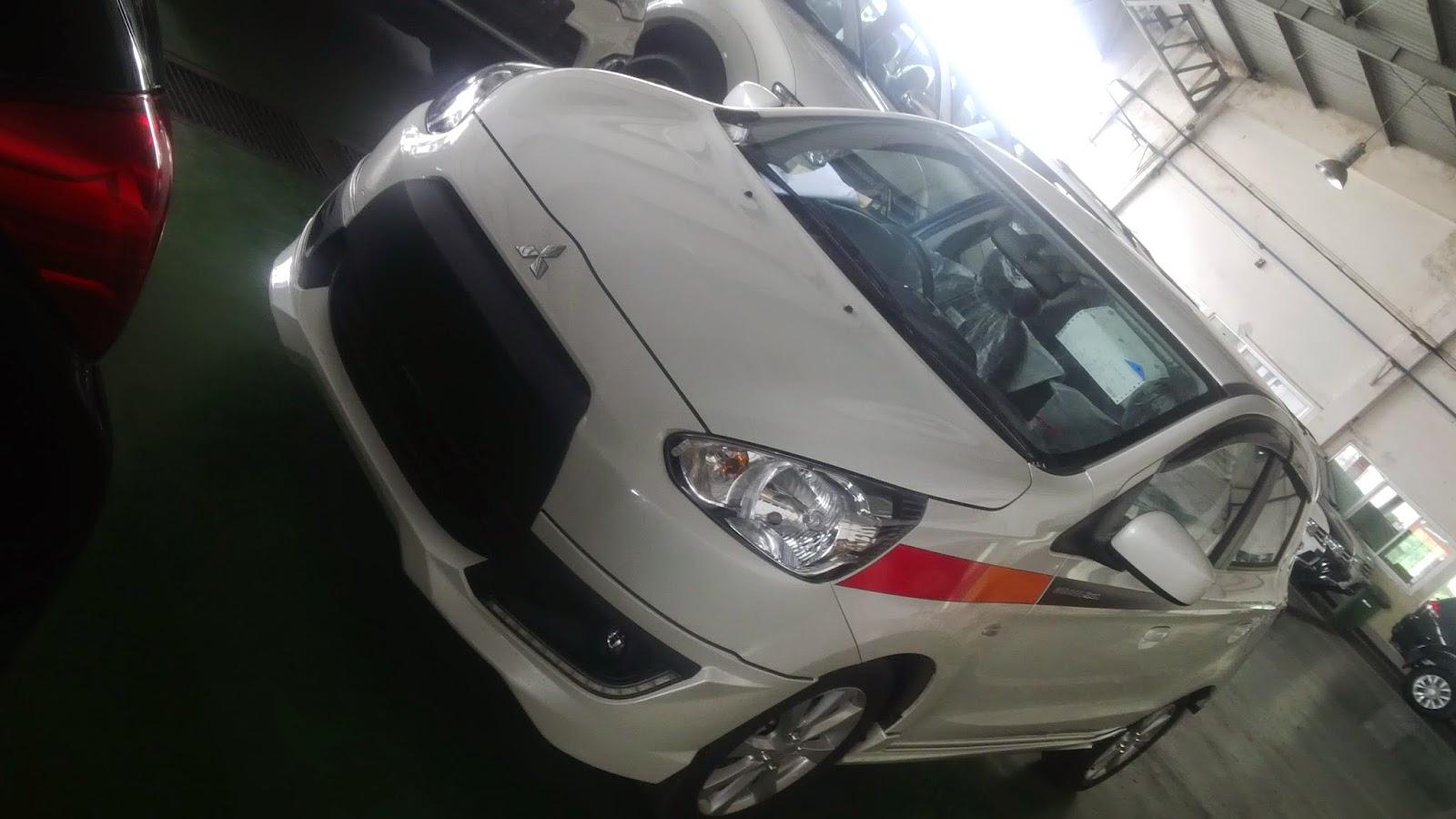 Mitsubishi Mirage Sport 2015 Terbaru