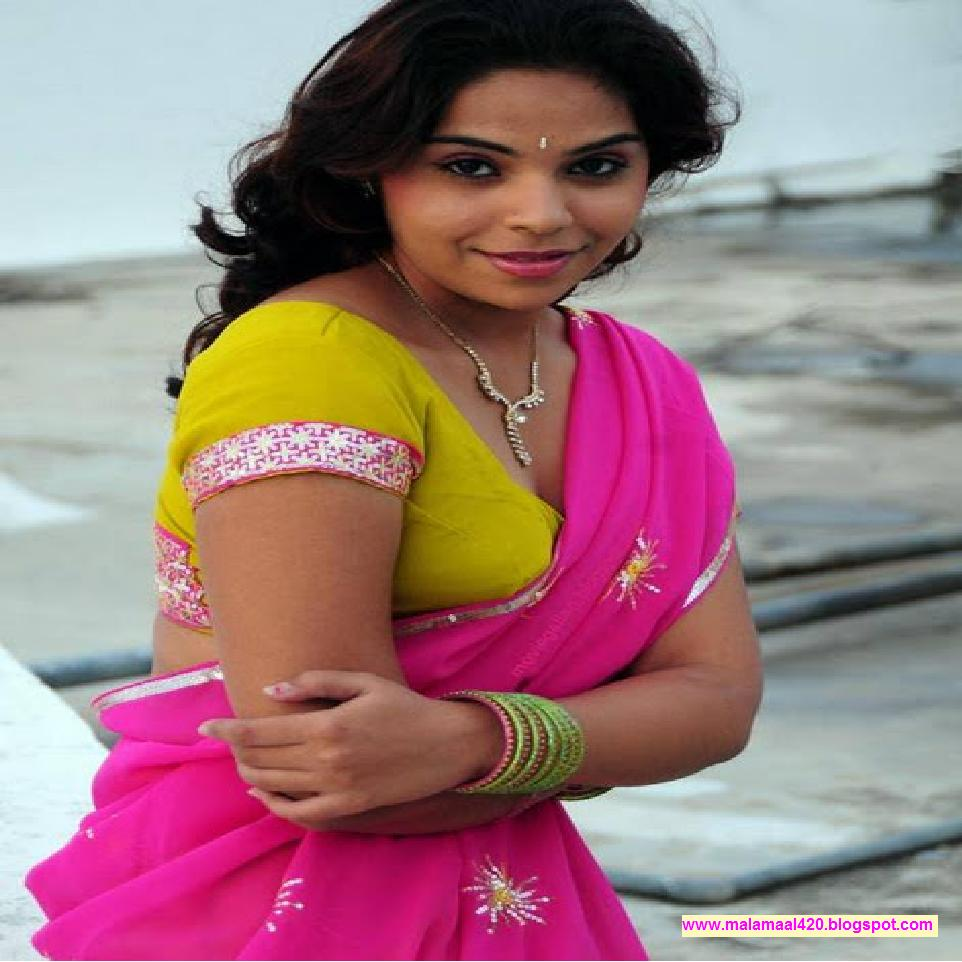 Mitra Hot In Yellow Blouse Pink Saree Hot Sexy Pictures Hot Sexy ...