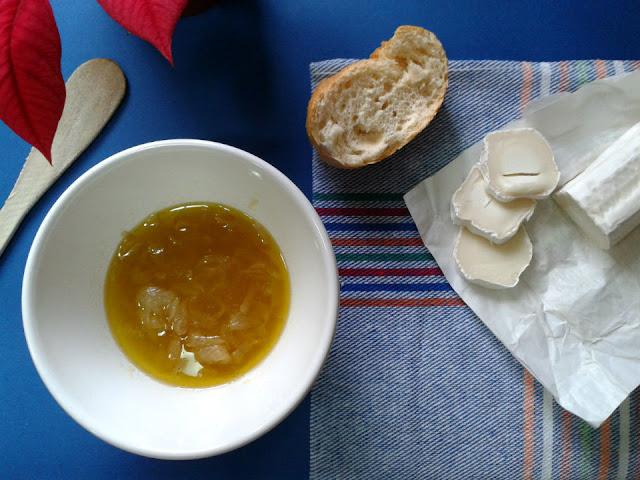 Preparamos el pan y el queso