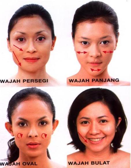 make up sesuai bentuk wajah setiap orang memiliki bentuk bentuk