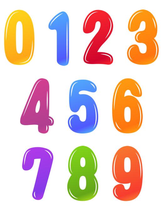 Учимся писать цифры