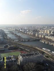 Paris lá de cima.