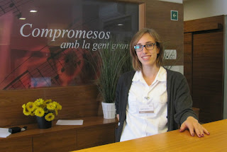 recpeció Allegra Vitamagna Sabadell