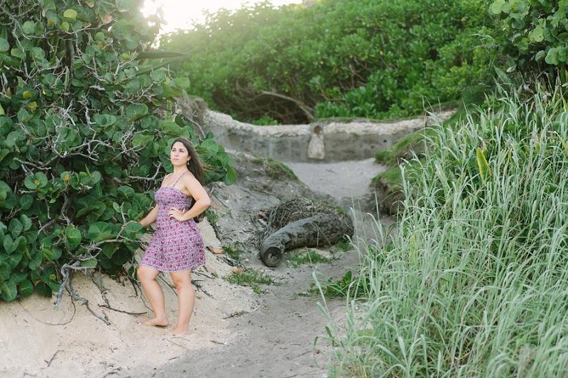 palm beach county florida senior portrait