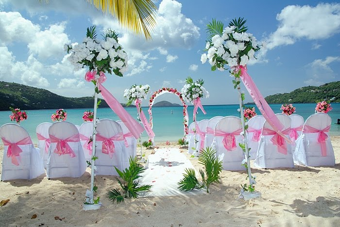 The best wedding decorations hawaiian wedding decorations for Beautiful places for a wedding
