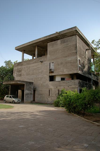 Casa shodan de le corbusier 1956 india blog - Casas de le corbusier ...