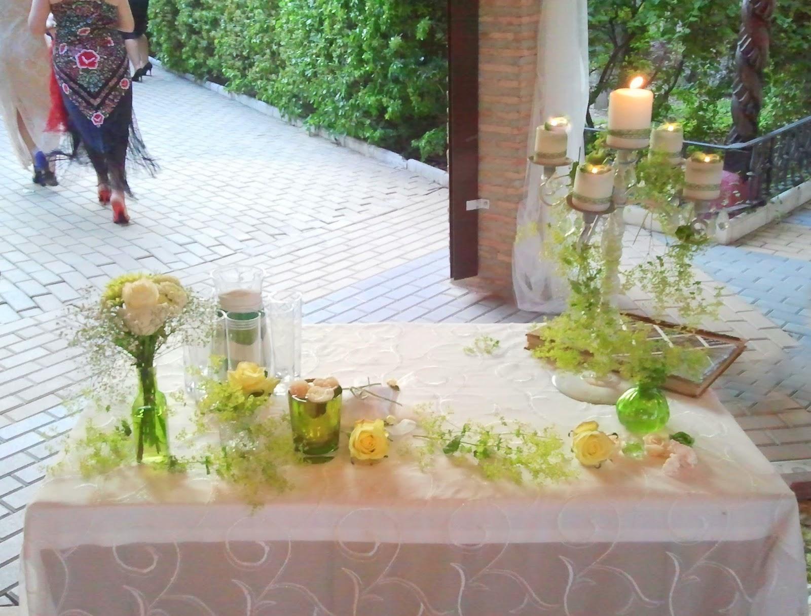 Decoraci n de bodas vintage r stico chic decoraci n - Decoracion rustico chic ...