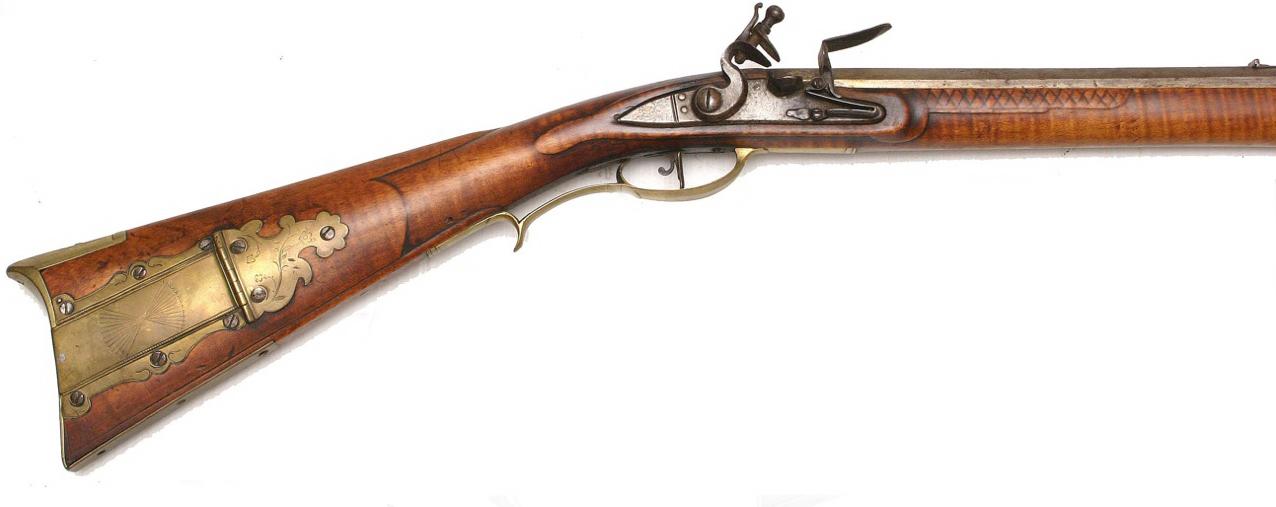 Contemporary makers quot golden age flintlock kentucky rifle