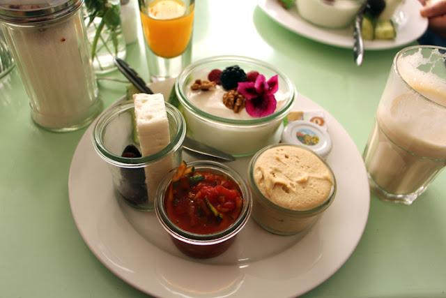Türkisches Frühstück Cafe Augustin