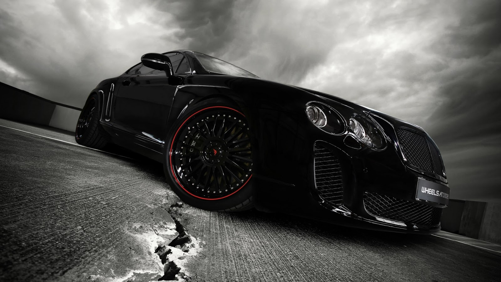 Download super hd black car wallpaper . Click on the image to see the ...