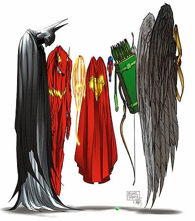 dc comics identity crisis cover by michael turner and brad meltzer
