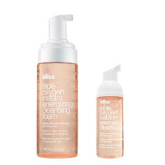 Bliss, Bliss Triple Oxygen Instant Energizing Cleansing Foam, Bliss cleanser, Restorsea, Restorsea Reviving Cleanser, cleanser, skin, skincare, skin care