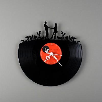 reciclagem - disco de vinil