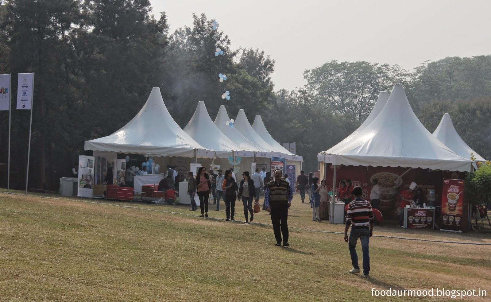 nehru park, delhi, food festival, food