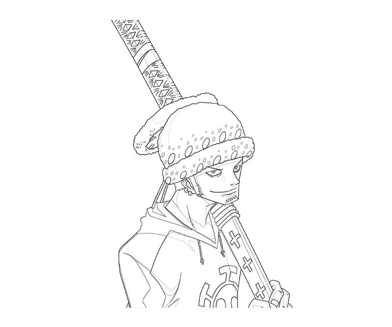 one-piece-trafalgar-law-character-coloring-pages