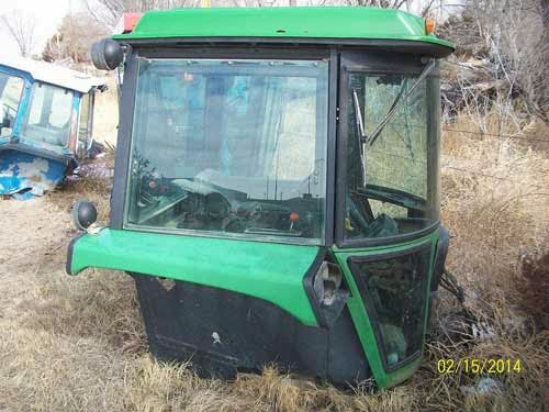 John Deere 4840 tractor cab for sale