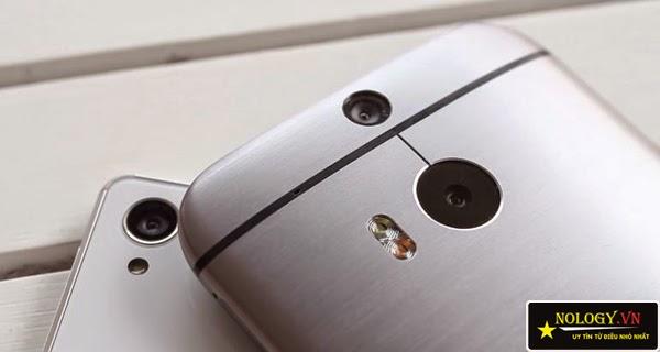 So sánh Sony Xperia Z3 Nhật Bản và HTC One M8.