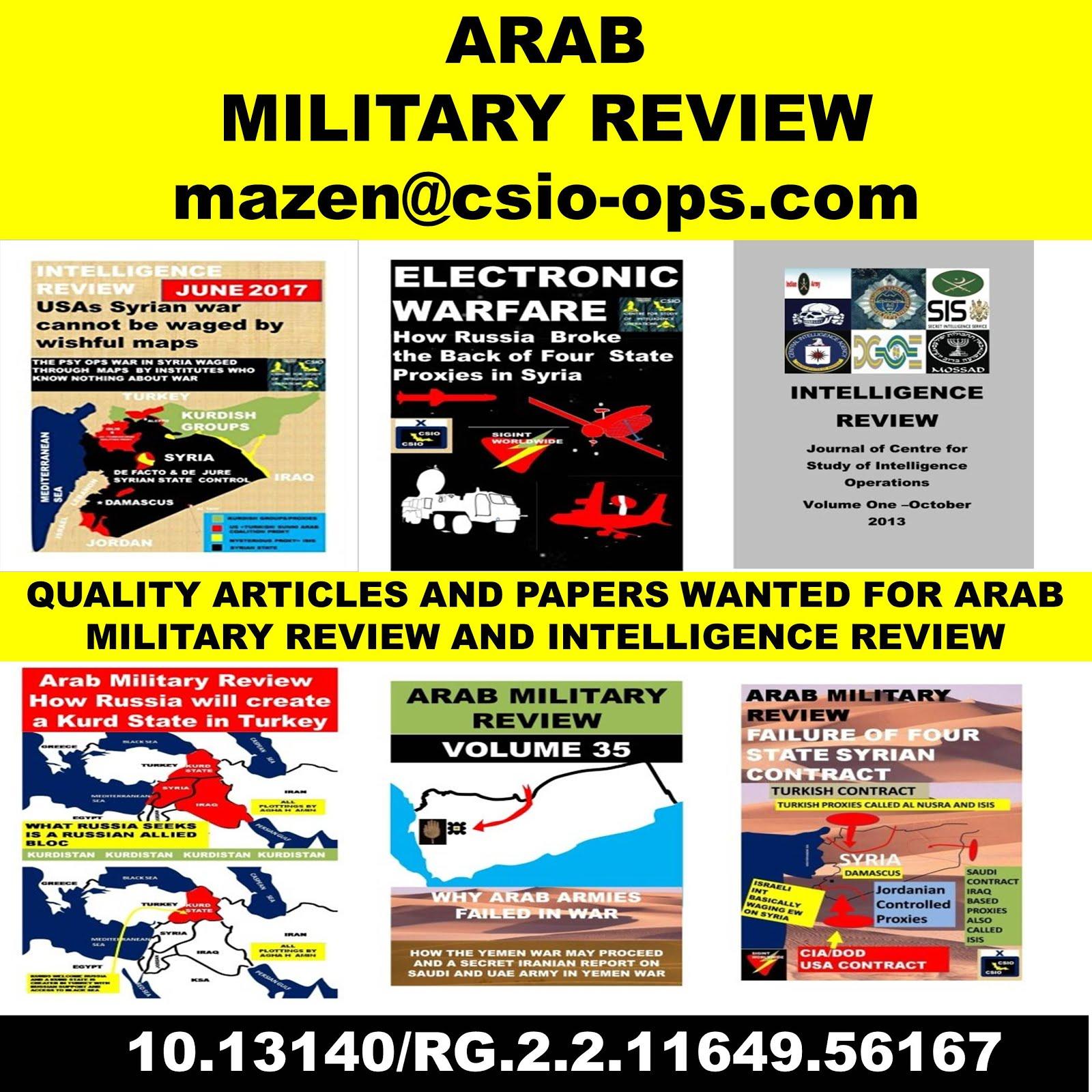 arab military review