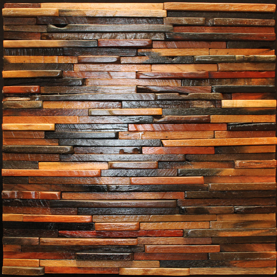 Foundation Dezin Decor 3D Wood wall panels