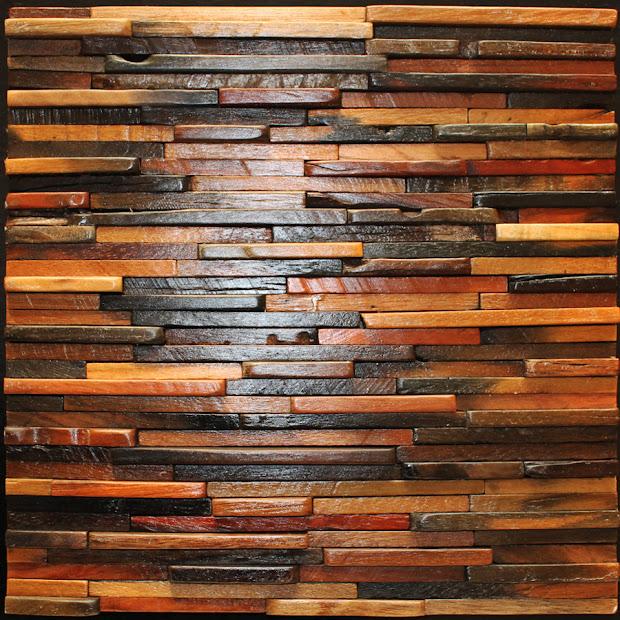 Decorative Wood Wall Panel Tiles
