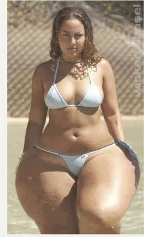 Wow Meet Woman With Biggest Hips In on Meet Sultry Simone The Winner Of Best Behind In