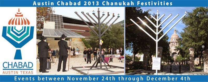 Austin Chabad Chanukah 2013