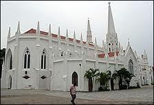 SANTHOMEE CHURCH-( San Thome Church)