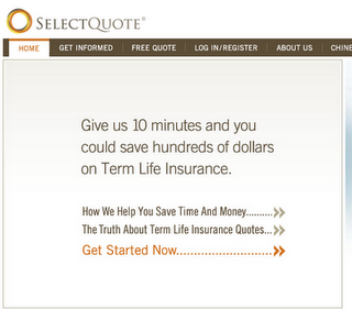 Select Quote Term Life Insurance Beauteous Selectquote Uses Google Technology To Decrease Costperlead  Tv