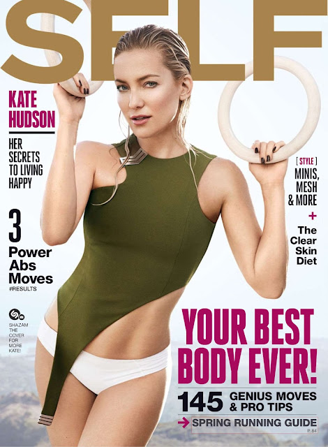 Actress, @ Kate Hudson - Self Magazine, March 2016