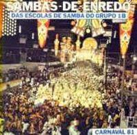 foto da capa do cd sambas de enredo 1981 grupo de acesso
