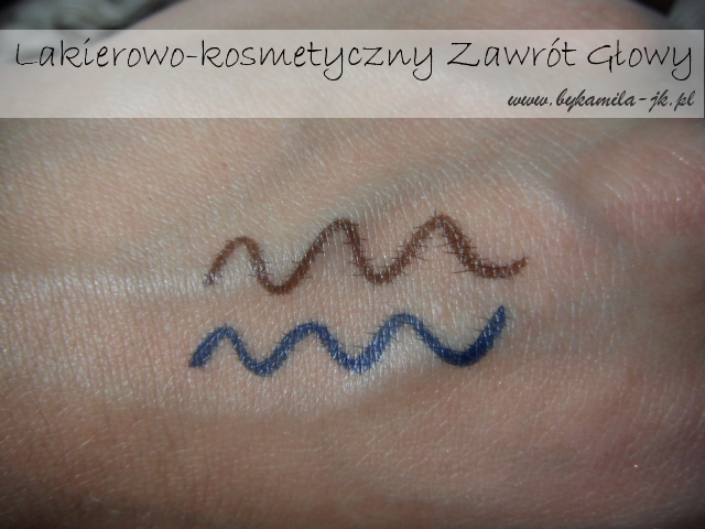 Nowe eyelinery My Secret nowość Natura