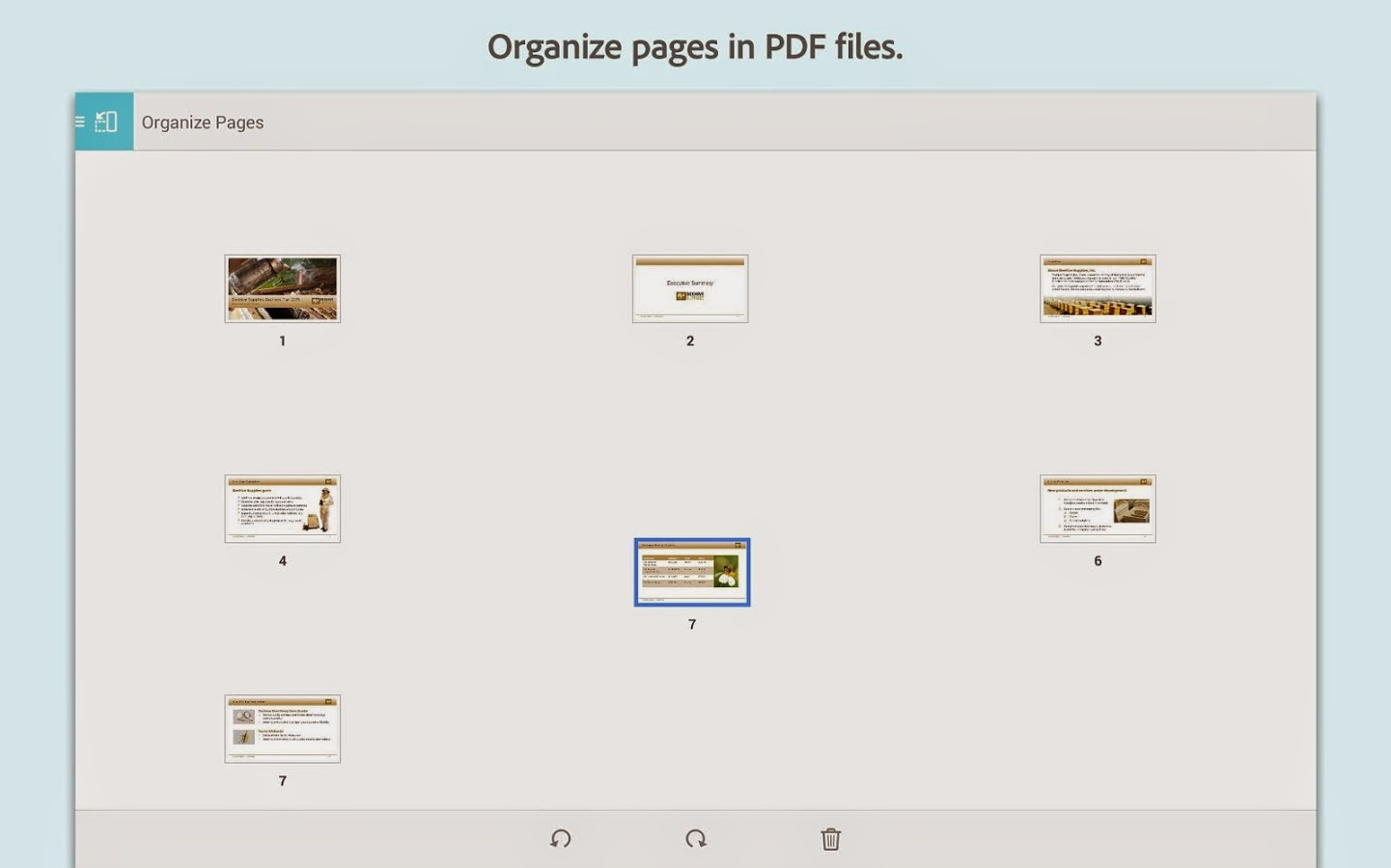 برنامج  Adobe Reader  أدوبي ريدر لعرض ملفات  PDF  على الهاتف الذكي