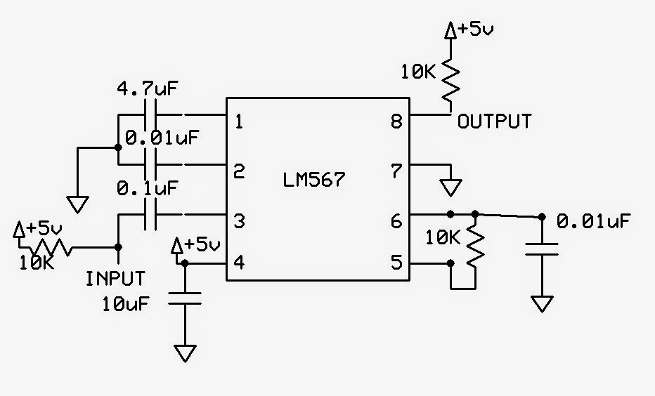 emerging technologies  frequency detection using lm567