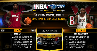 NBA 2K13 Roster Update - Playoffs Round 1