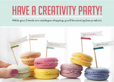 Host a Party with Bekka Prideaux and earn free Stampin' Up! Products