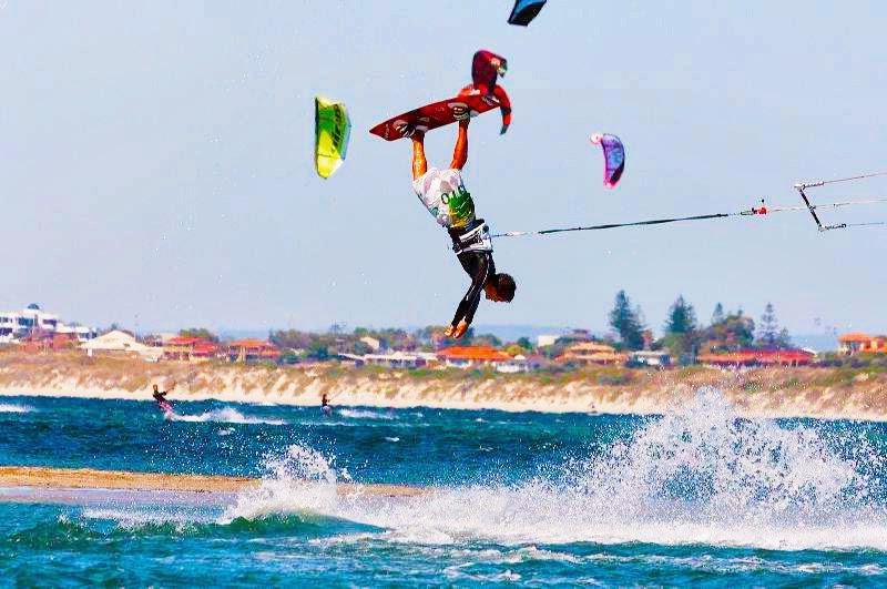 kiteboarding crash