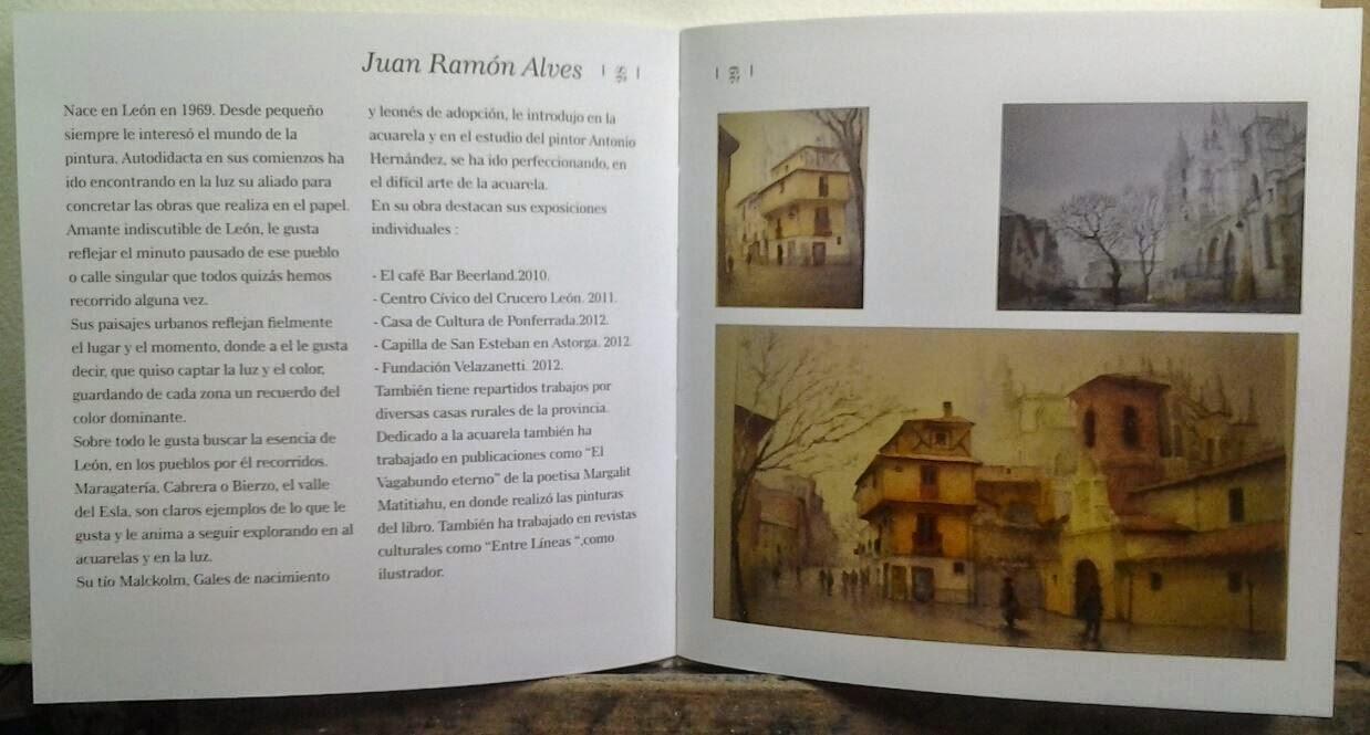 Reseña en libro para la expo de Camarote Madrid. 2013-14