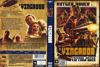 O Vingador DVD Capa