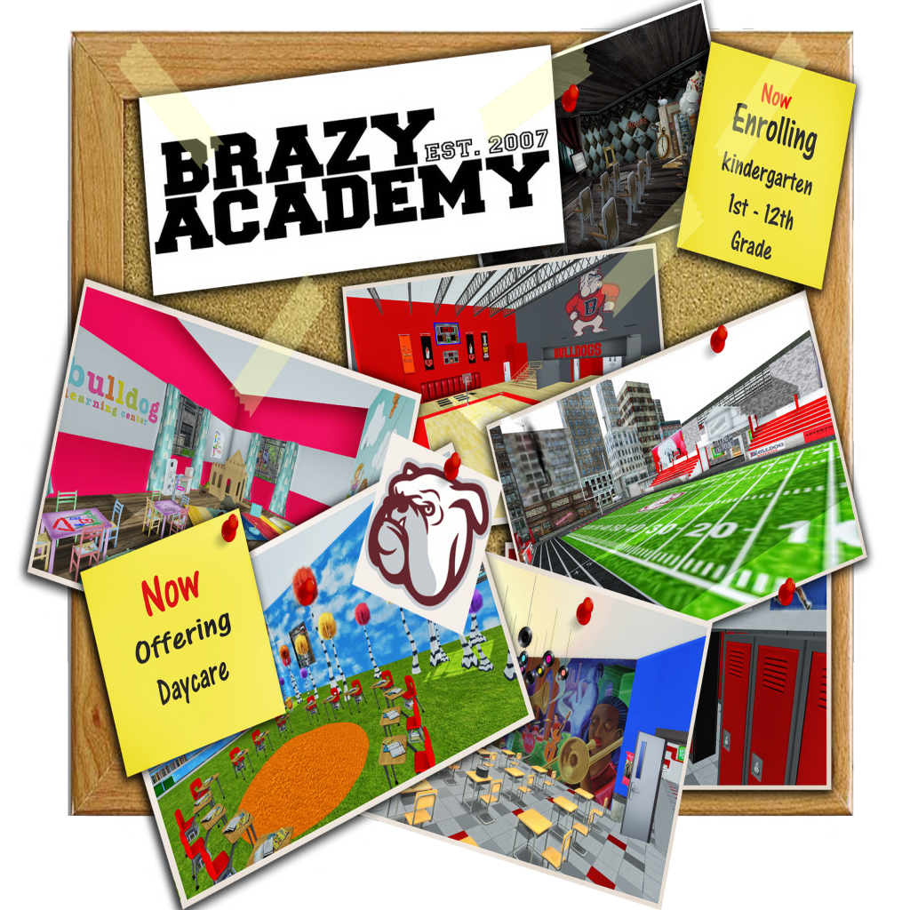 the sl enquirer brazy academy is casual age role play school that offers daycare and kindergarten along grades 1st to 12th grade we offer classes that introduce fun