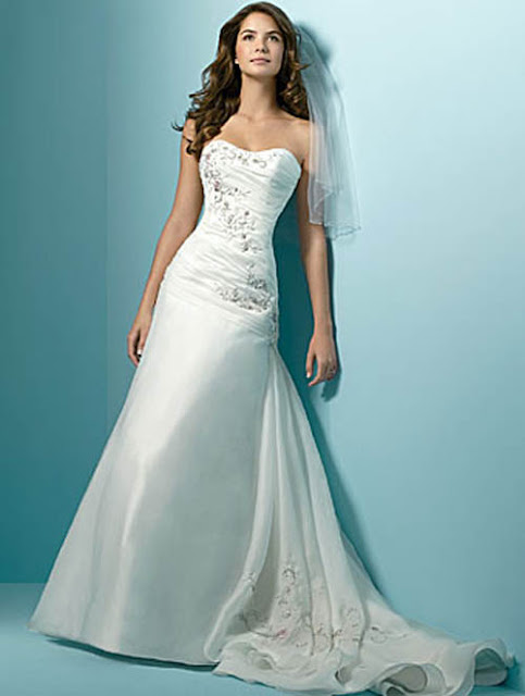 Wedding Dresses 2011 By Alfred Angelo Latest Stylish Fashion All Around The World