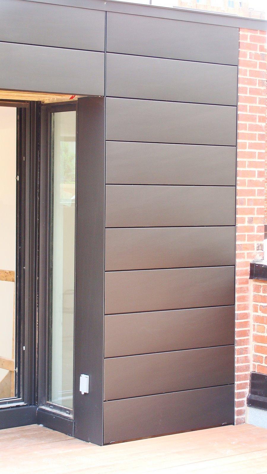 ferblanterie de patrimoine bardage horizontal vm zinc anthrax. Black Bedroom Furniture Sets. Home Design Ideas