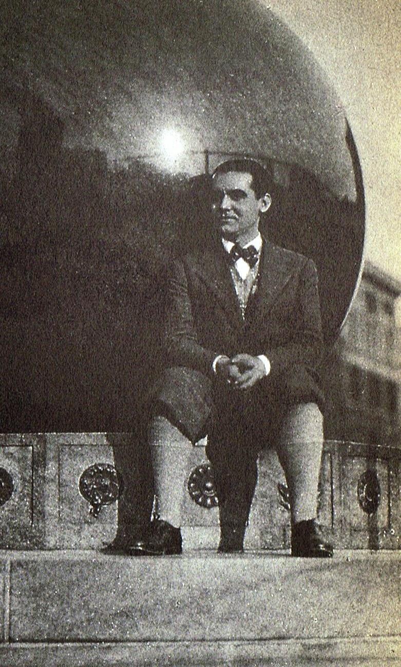 Federico en Nueva York en 1929